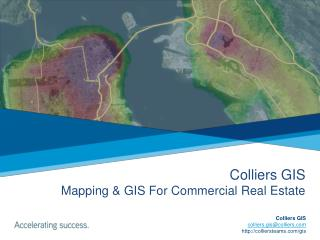 Colliers GIS Mapping & GIS For Commercial Real Estate