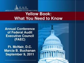 Yellow Book:  What You Need to Know