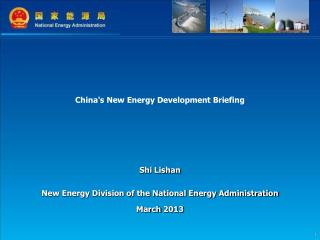 China's New Energy Development Briefing