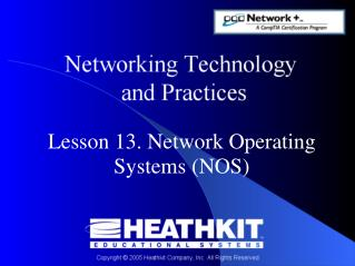 Lesson 13. Network Operating Systems (NOS)