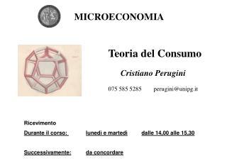 Cristiano Perugini 075 585 5285        perugini@unipg.it