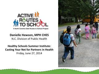 Fewer kids walk or bike to school  (U.S. DOT, 2009)