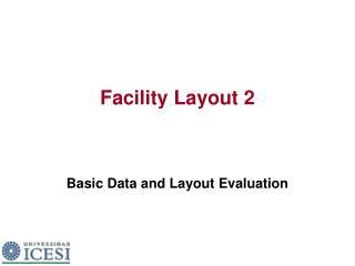 Facility Layout 2