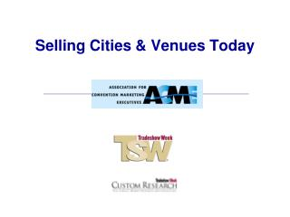 Selling Cities & Venues Today