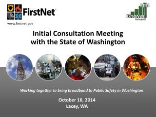 Initial Consultation Meeting  with the State of Washington