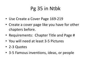 Pg  35 in  Ntbk
