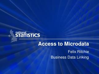 Access to Microdata