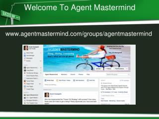 Welcome To Agent Mastermind