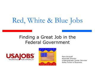 Red, White & Blue Jobs