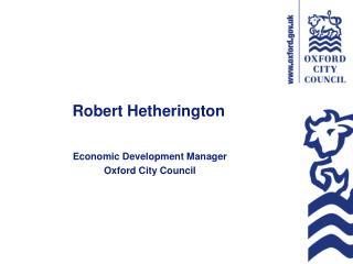 Robert Hetherington