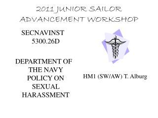 2011 JUNIOR SAILOR ADVANCEMENT WORKSHOP