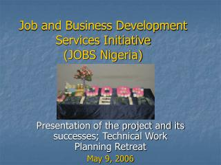 Job and Business Development Services Initiative (JOBS Nigeria)
