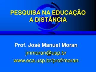 PESQUISA NA EDUCA  O A DIST NCIA