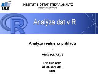 Analýza dat v R