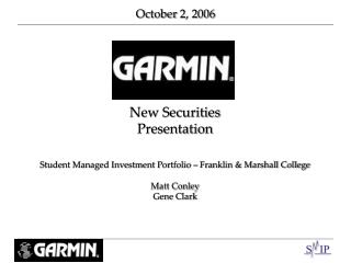 New Securities Presentation