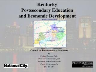 Kentucky Postsecondary Education and Economic Development