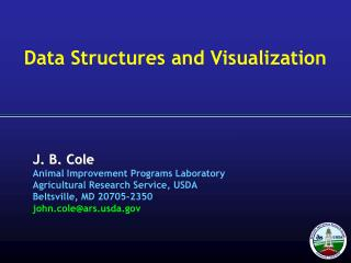 Data Structures and Visualization