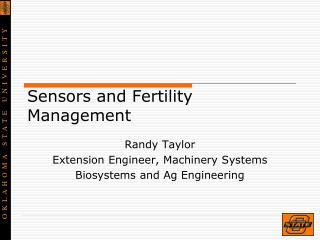 Sensors and Fertility Management