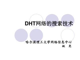 DHT 网络的搜索技术