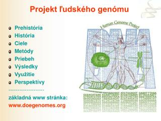 Projekt ľudského genómu