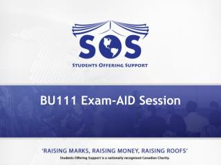 BU111 Exam-AID Session