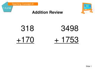 Addition Review