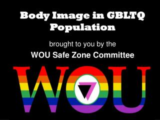 Body Image in GBLTQ Population