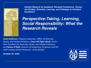 Perspective-Taking, Learning, Social Responsibility: What the Research Reveals