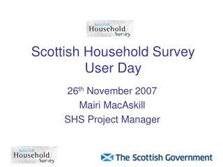Scottish Household Survey User Day