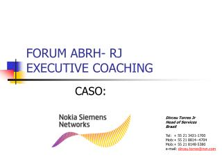FORUM ABRH- RJ  EXECUTIVE COACHING