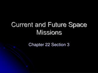 current space missions - photo #20