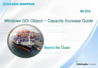 Windows GDI Object - Capacity Increase Guide