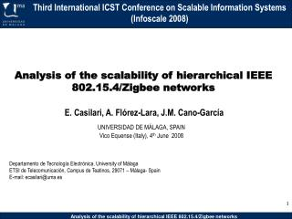 Analysis of the scalability of hierarchical IEEE 802.15.4/Zigbee networks