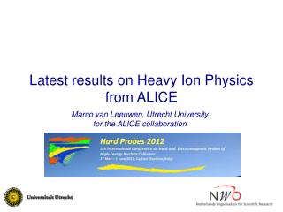 Latest results on Heavy Ion Physics from ALICE