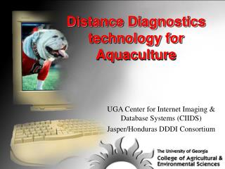 Distance Diagnostics technology for Aquaculture