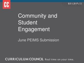 Community and Student Engagement