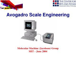 Molecular Machine (Jacobson) Group  MIT – June 2004