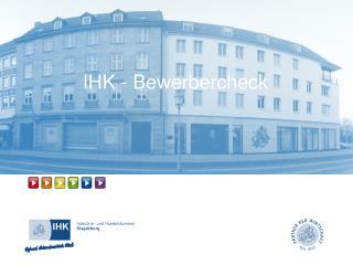 IHK - Bewerbercheck