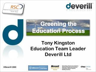 Greening the Education Process