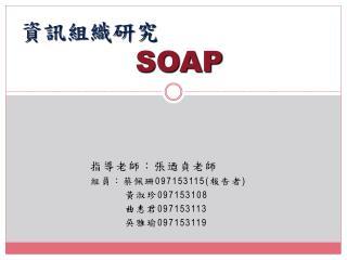 資訊組織研究 SOAP