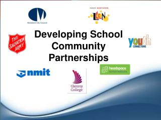 Developing School Community Partnerships