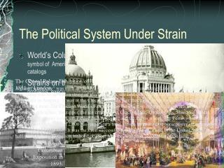 The Political System Under Strain