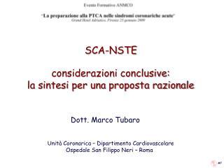SCA-NSTE