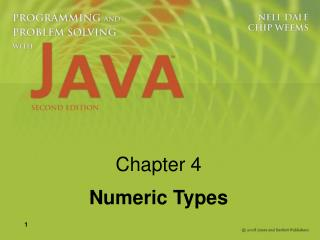 Chapter 4 Numeric Types