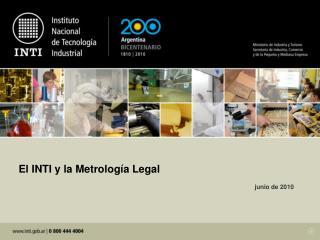 El INTI y la Metrolog�a Legal