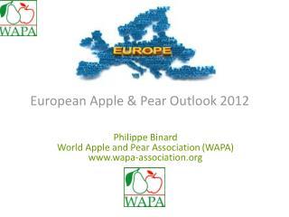 European Apple & Pear Outlook 2012