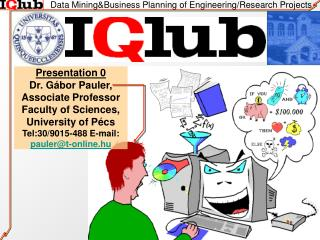 Data Mining&Business Planning of Engineering/Research Projects
