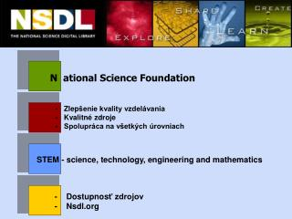 N ational Science Foundation