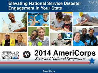 Elevating National Service  Disaster  Engagement in Your State