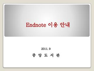 Endnote  ?? ??